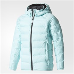 adidas B/G Froosty Hooded Jacket Çocuk Mont