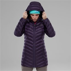 The North Face W Trevail Parka Bayan Mont
