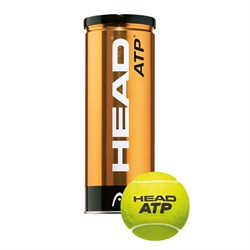 Head 3 Ball ATP Metal Kutu Tenis Topu